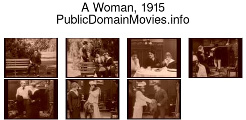 A Woman, 1915 film starring Charlie Chaplin