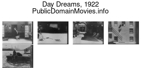 Day Dreams, 1922 featuring Buster Keaton