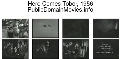 Here Comes Tobor, 1956 (serial) Pilot episode