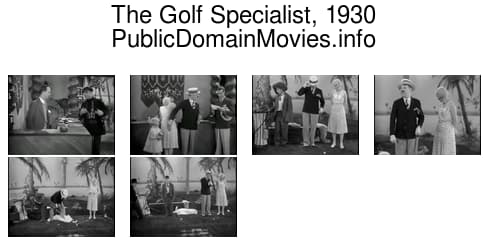 The Golf Specialist, 1930