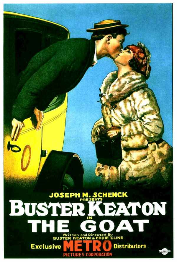 The Goat, 1921 starring Buster Keaton