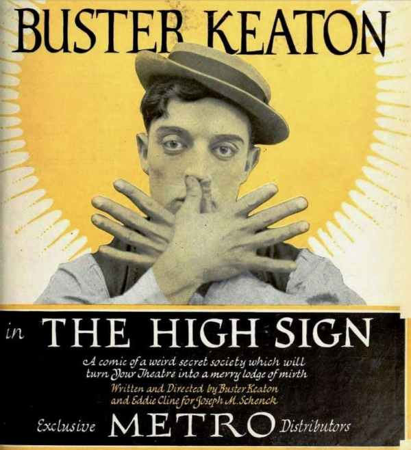 The High Sign, 1921 comedy film starring Buster Keaton