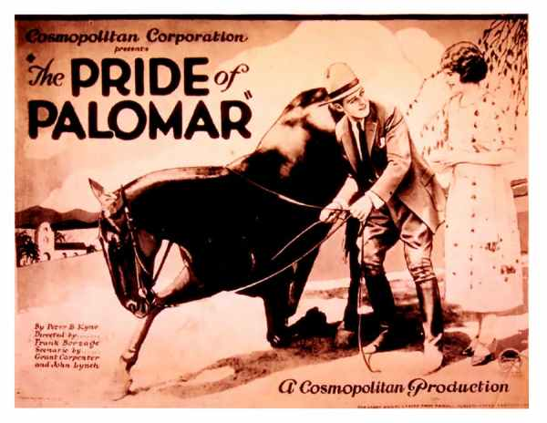 The Pride of Palomar, 1922