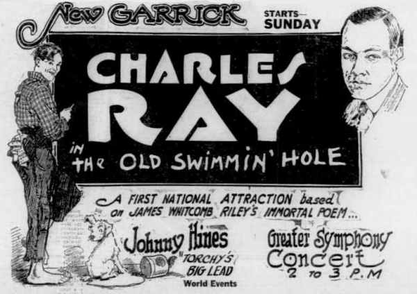 The Old Swimmin' Hole, 1921