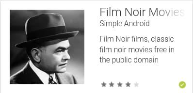 Film Noir Movies App