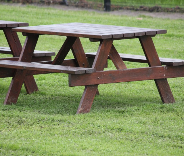 Picnic Table Free Stock Photo Public Domain Pictures