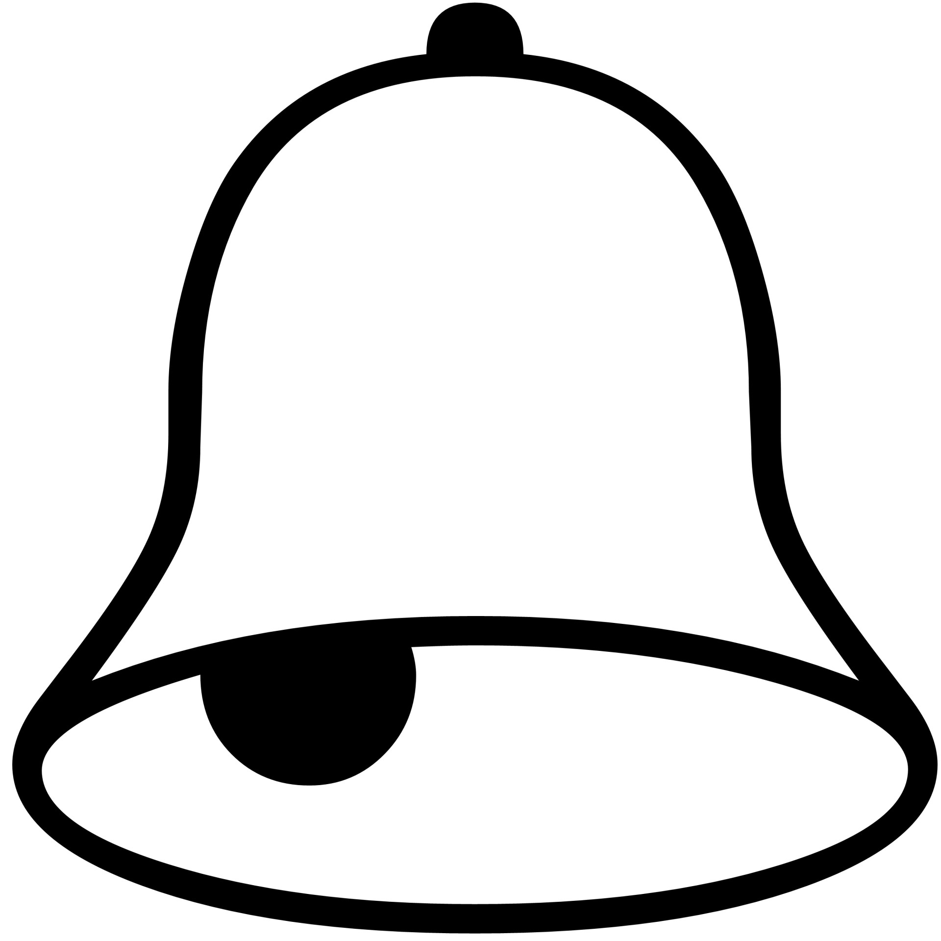 Bell Silhouette Free Stock Photo