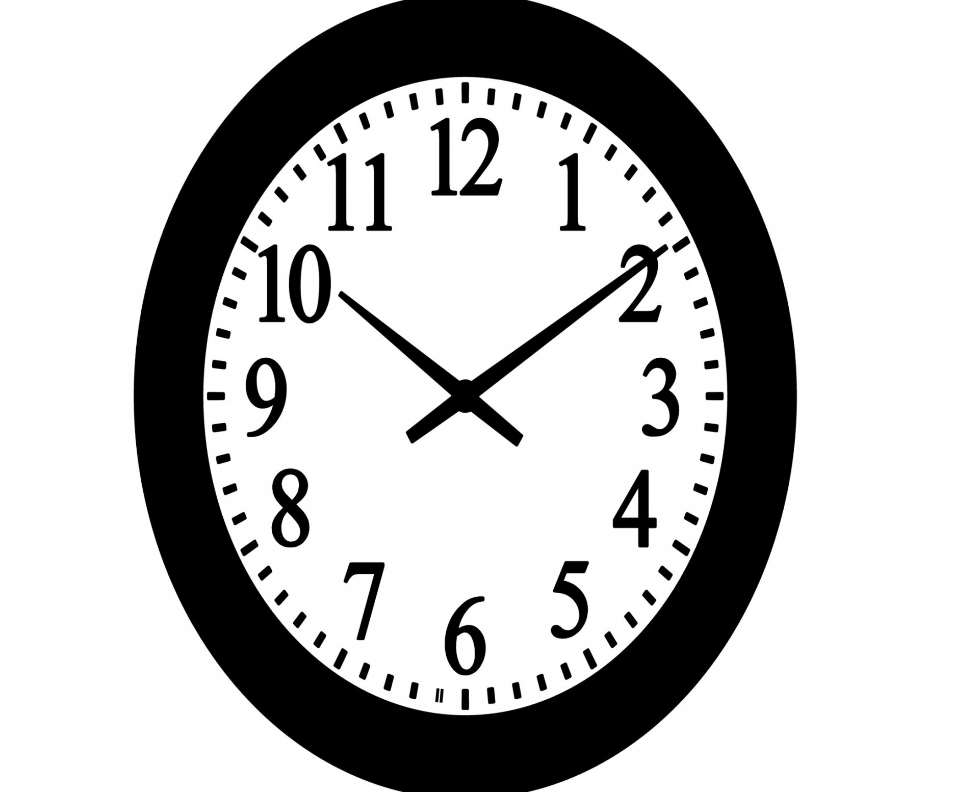 Wall Clock Clip Art Free Stock Photo