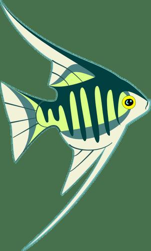 Gambar Ikan Tropis Domain Publik Vektor