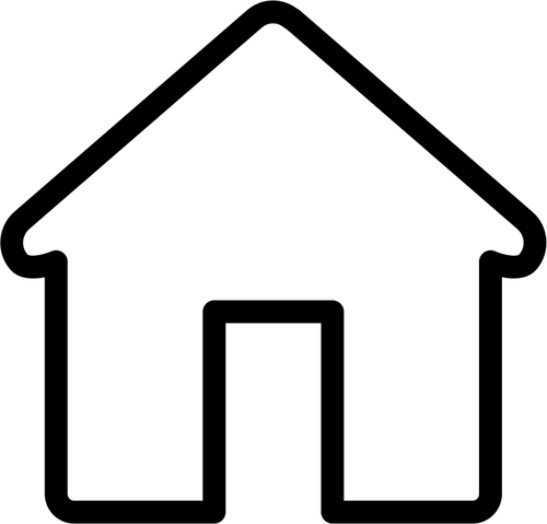 Rumah Manis Rumah Domain Publik Vektor