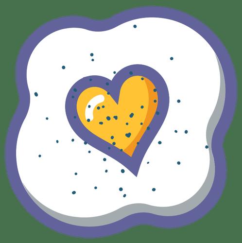Egg heart