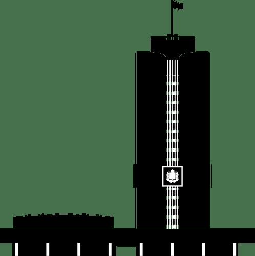 89 Gedung Clipart Gratis Domain Publik Vektor