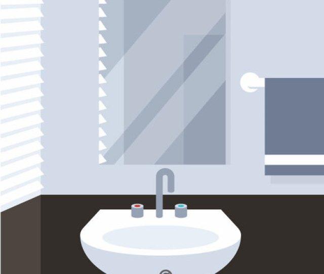Washbasin In The Bathroom