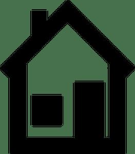 323 Rumah Ikon Clipart Gratis Domain Publik Vektor