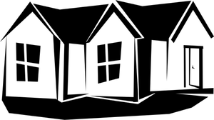 1611 Rumah Clipart Gratis Domain Publik Vektor