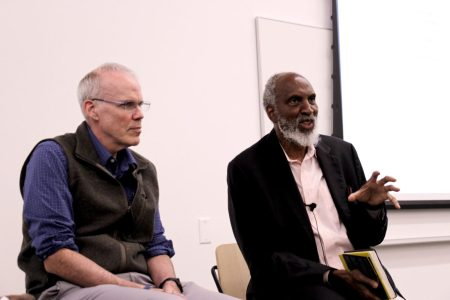 Bill McKibben and john a. powell discuss climate change, gene editing, and our common future
