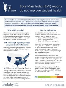 Download Fit Study Policy Brief