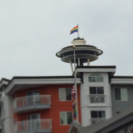 Space Needle Pride