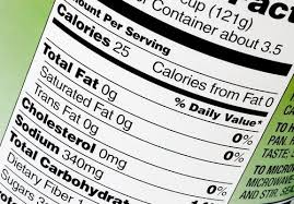 Nutrition label featuring trans fats via USDA.gov.