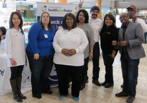 Public Health's enrollment team at Southcenter Mall