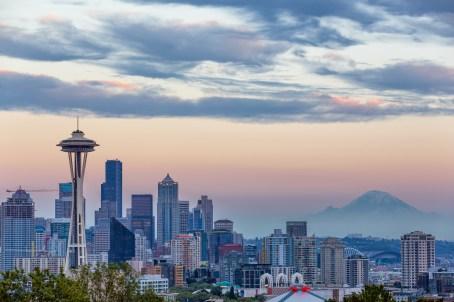 Seattle - skyline and rainier