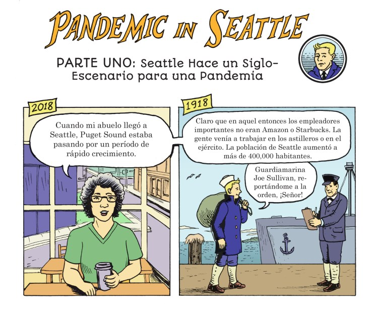 Pandemic panel 1A SPANISH