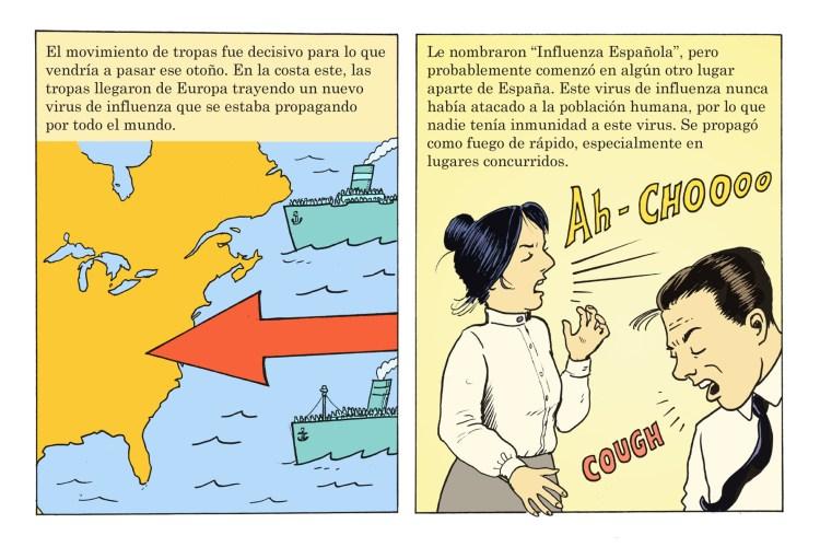 Pandemic panel 2A Spanish