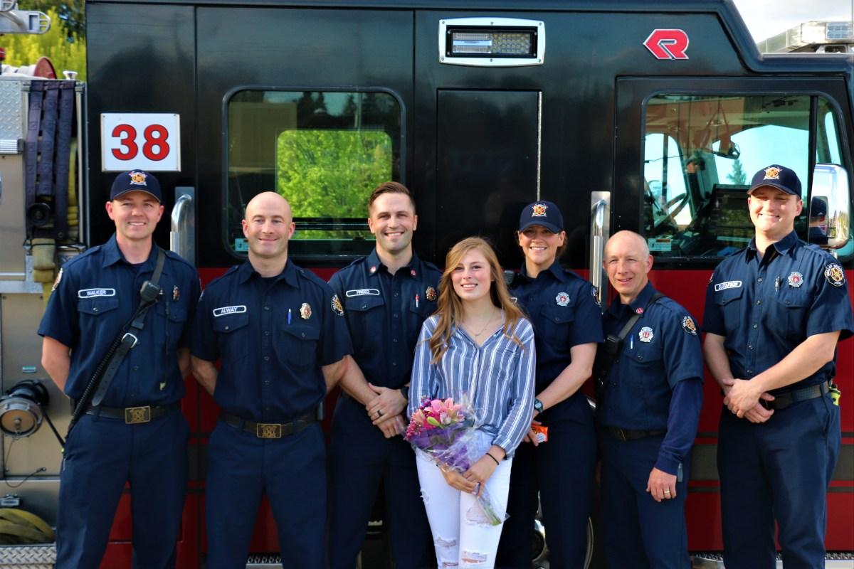 EMS teamwork saves teen
