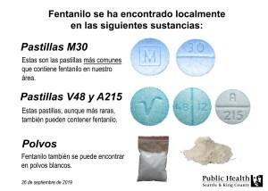 Actualización acerca de las sobredosis: Reciente aumento en las muertes por sobredosis relacionadas con las píldoras y polvos que contienen fentanilo
