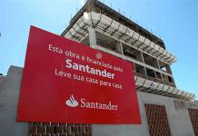 Santander Brasil volta a operar crédito imobiliário com recursos do FGTS
