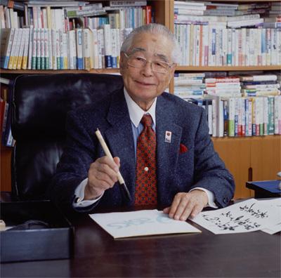 El fundador de Asics Kihachiro Onitsuka. Murió el 29 de septiembre a los 89 años.