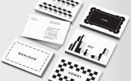 tarjetas blanco y negro Ecuadorac48