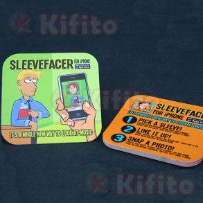 tarjetas de presentacion cuadradas dado 37875985567