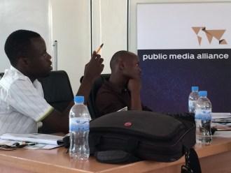 Journalists at our Kigali workshop. Image: Kristian Porter