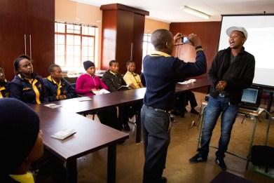 Bona Retsang community journalism training course. Imager: Vuselela