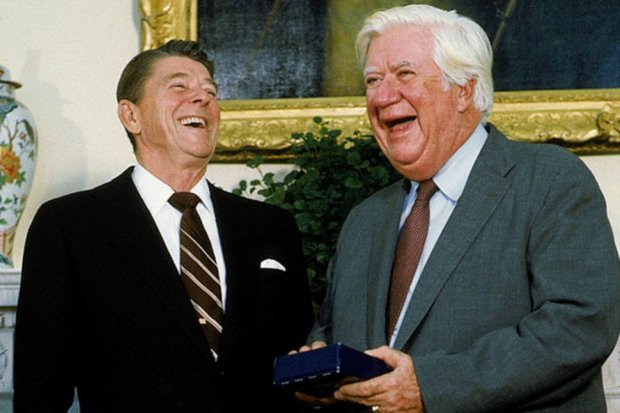 Ronald Reagan and Tip O'Neill