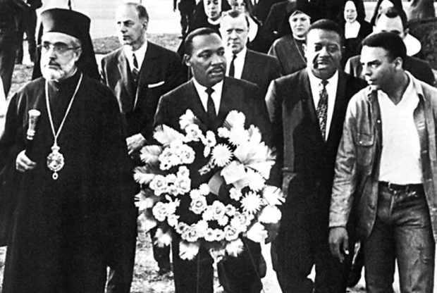Archbishop Iakovos with Rev. Martin Luther King, Jr.