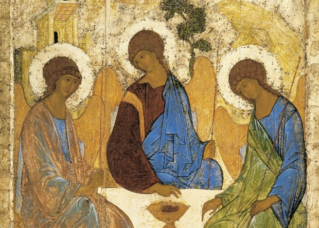Andrei Rublev's Trinity