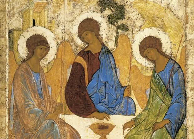 Andrei Rublev's Trinity
