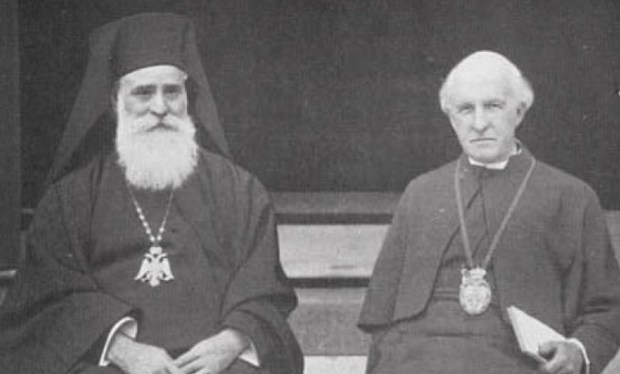 Patriarch Meletios and Archbishop Cosmo Lang