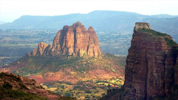 Mountains of the Tigray region