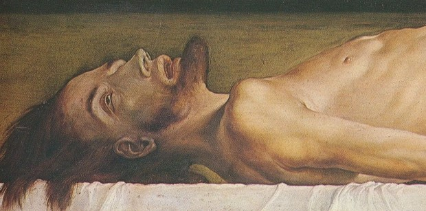 Hans Holbein, The Body of the Dead Christ in the Tomb