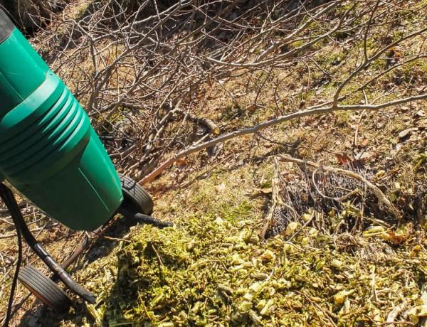 kompostering av grener