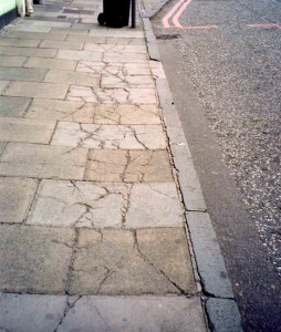 Perfectly good concrete slabs have been broken because there is insufficient structure below them to support heavy vrhicles driving over them