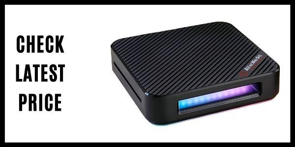 AVerMedia Live Gamer Bolt Thunderbolt 3 External Video Capture Card