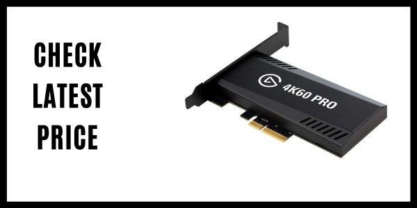 Elgato 4K60 Pro MK.2 PCIe Capture Card 4K60 HDR10 Capture Card
