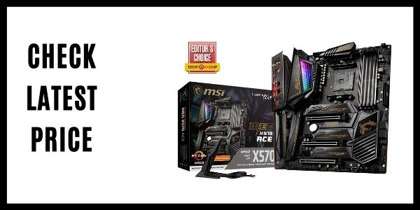 MSI MEG X570 ACE Motherboard With Wi-Fi 6 DDR4