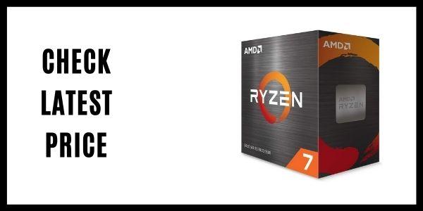 The AMD Ryzen 7 5800X (Zen 3) CPU
