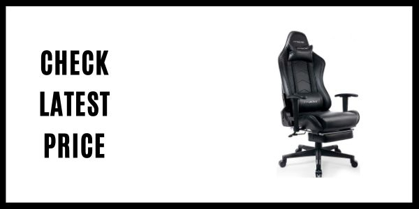 Gtracing Gaming Chair with Footrest Big and Tall Office Executive Chair