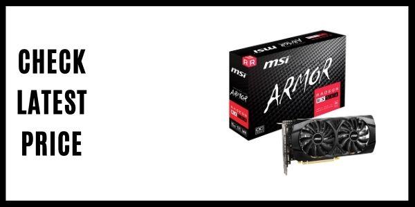 MSI Gaming Radeon Rx 580 256-bit 8GB GDRR5 (2)